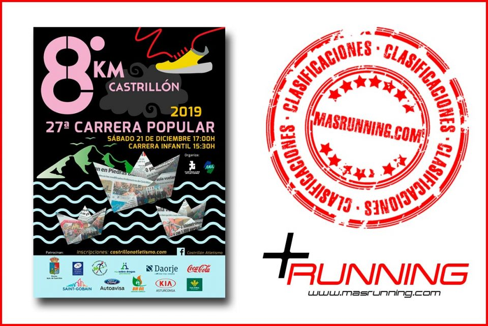 resultados 8 km de castrillon 2019